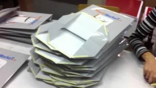 видео изготовление бумажных пакетов