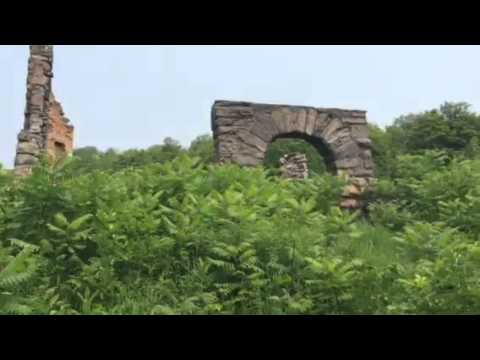 Exploring the ruins of Osler Castle
