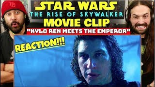 Kylo Ren Meets The Emperor CLIP | STAR WARS: THE RISE OF SKYWALKER - REACTION!!!