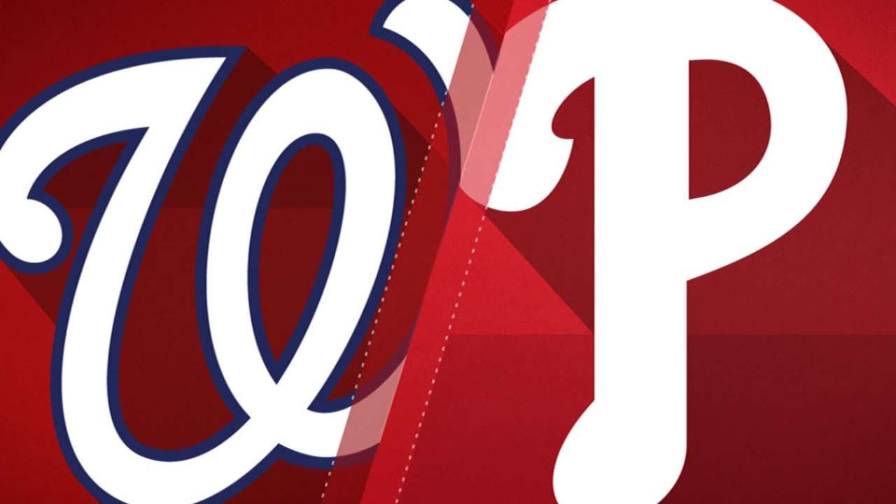Phillies split with Nationals; they won't see them for a while