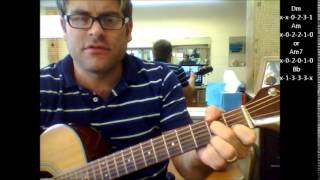 How To Play All I Want By Toad The Wet Sproket On Acoustic Guitar