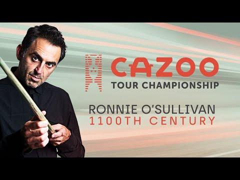 Ronnie O'Sullivan's 1100th Century | Cazoo Tour Championship