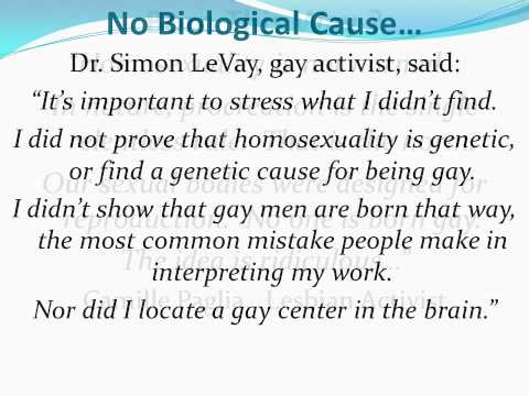 biological causes of homosexuality In the last two decades, dozens of scientific papers have been published on the biological origins of homosexuality and a genetic factor is taken to be the cause.