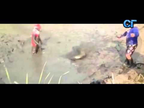 Рыбалка в грязи  Смех и грех