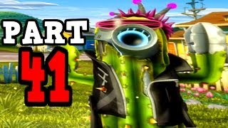 Plants vs Zombies Garden Warfare - Future Cactus Gameplay Walkthrough - Crazy! Disco Final Boss
