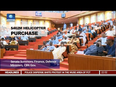 Senate Summons Finance, Defence Ministers, CBN Governor Over $462M Helicpter Purchase