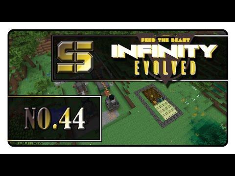 Minecraft FTB Infinity Evolved #044 - Diesel Generator Immersive Engineering
