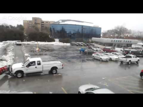 Live Shot at Koons Ford Annapolis: After SnowStorm Pax