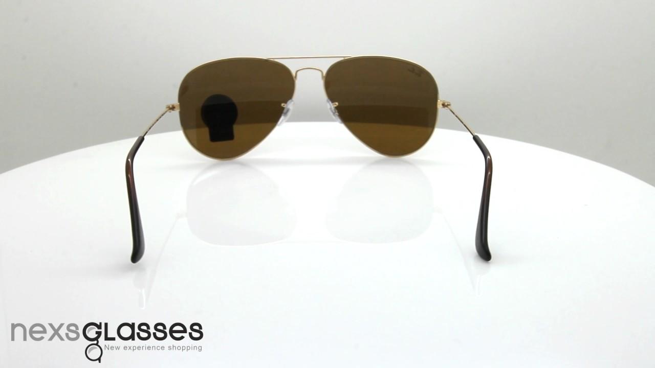 d7ec18de420150 แว่นกันแดด RAY-BAN AVIATOR CLASSIC RB3025 001 33 58. Nexs Glasses