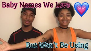 10 BABY NAMES WE LOVE BUT WON'T BE USING!!! |Lolo & Free Team|