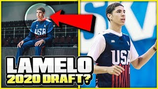 DON'T BE FOOLED.. LAMELO BALL IS STILL A TOP NBA DRAFT PROSPECT!