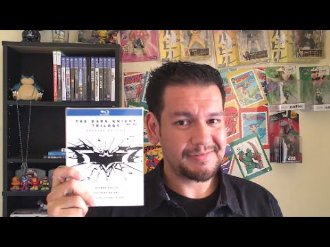 The Dark Knight Trilogy Special Edition Blu Ray Unboxing
