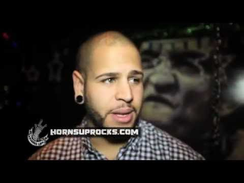 Tommy Vext Talks About His NEW Project With Members Of Mutiny Within At The  Lamb Of God Afterparty!
