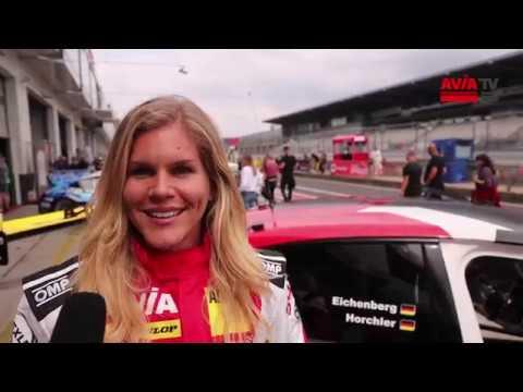 Biathletin Nadine Horchler am Nürburgring