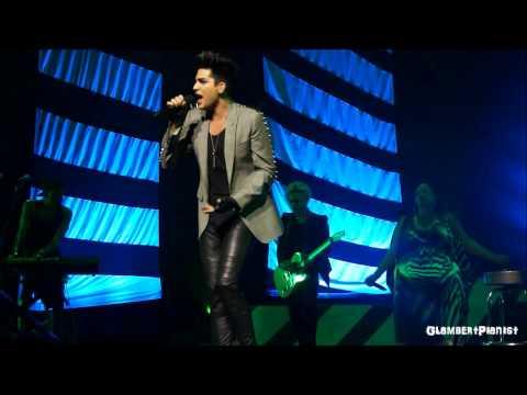 Shout Adam Lambert Singapore 8.3.2013