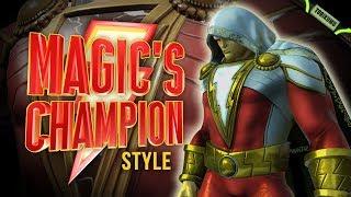 DC Universe Online: Magic's Champion Style (Inspired by Shazam) - Shazam! Time Capsules