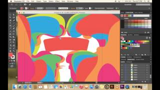 How to digitally replicate a 3D paper cut style using Adobe Illustrator
