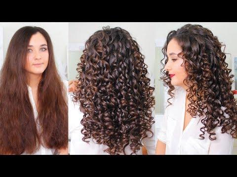 Афро Кудри 💕 Как сделать Афро Кудри💕 Кудрявые волосы 💕 прическа на средние волосы 💕 Hairstyle