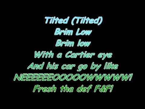 Tilted - Lupe Fiasco (Lyrics)