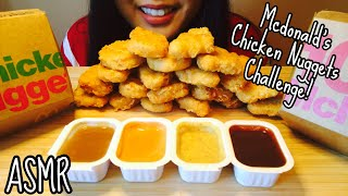 McDonald's Chicken Nuggets Challenge (by AUZSome Austin) Eating Sounds- ASMR