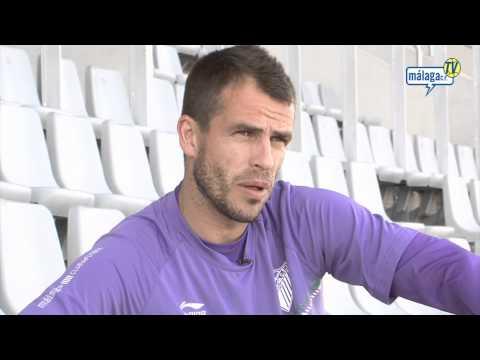 Málaga Club de Fútbol Televisión. Domingo 27/03/11. Entrevista a Duda
