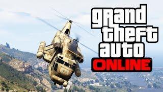 GTA V - How To Break Into Fort Zancudo Military Base in GTA Online (Best Way)