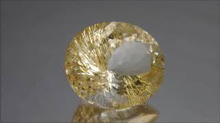 リモナイトイントパーズ   limonite in topaz