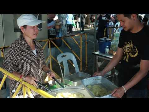 The behavior of Thai people