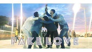 kpop in public challenge bts 방탄소년단 fake love dance cover sunflower dance group