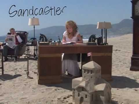 Robin Sparkles - Sandcastles in the Sand OFFICIAL MUSIC VIDEO *HQ*