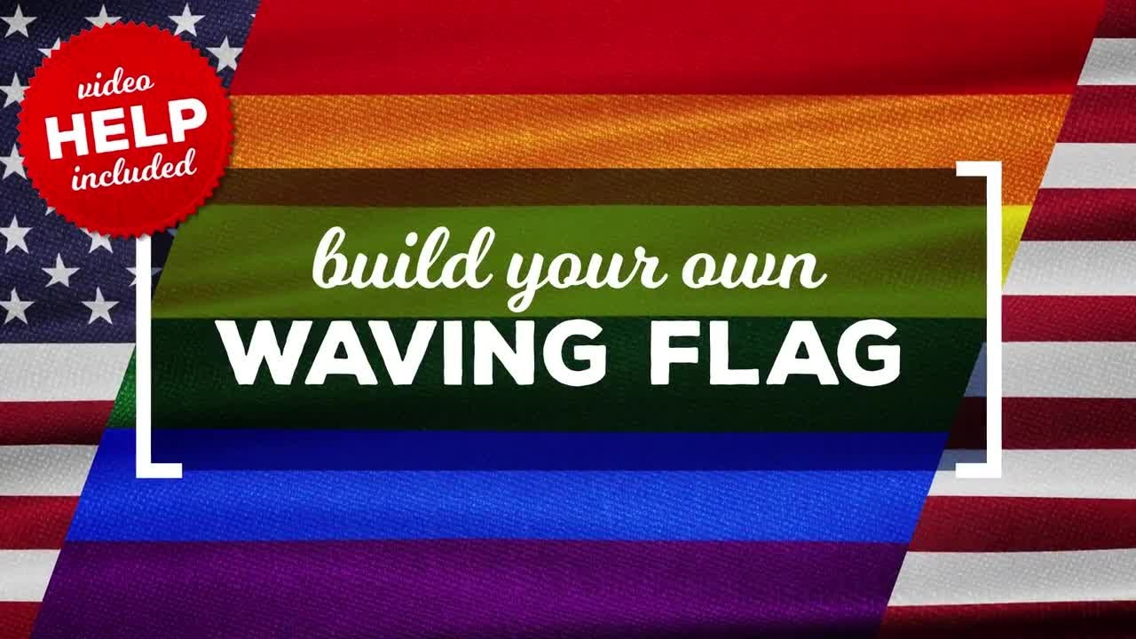 5367a913673d Waving Flags Maker After Effects Templates. Motion Array