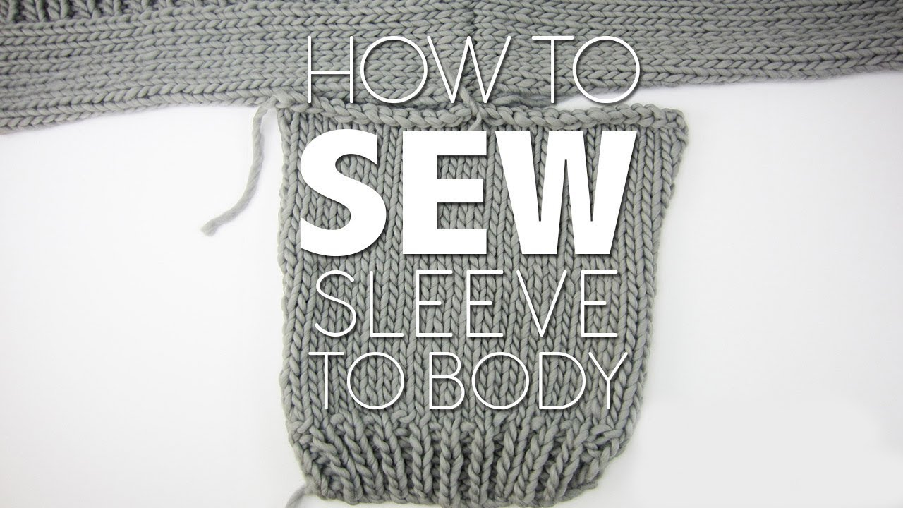 how to add sleeves sewing