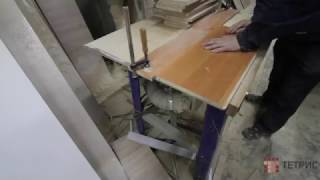 Пропил паза в ЛДСП для задней стенки кухни. Изготовление кухонь на заказ в Санкт-Петербурге.(, 2016-12-14T14:27:34.000Z)