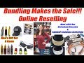 Online Reseller Offers Men's Gift Sets - Bundling Helps the Sale!!!