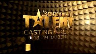 ČESKO SLOVENSKO MÁ TALENT - přijď na casting!