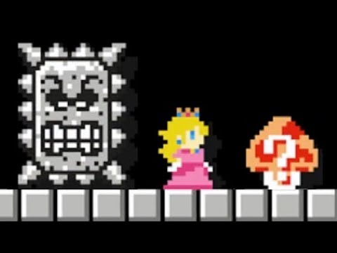 Super Mario Maker - 100 Mario Challenge #209 (Expert Difficulty)