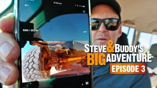 PROBLEMS WITH MY UNDERCARRIAGE (EP3) | Steve & Buddy's Big Adventure