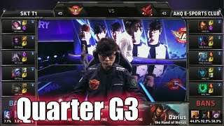SK Telecom T1 vs ahq Game 3 | Quarter Finals LoL S5 World Championship 2015 | SKT vs AHQ G3 Worlds