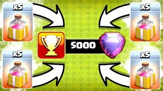 THIS IS GOING TO BE EXTREMELY HARD!! - Clash Of Clans - NEW RECORD , NEW SEASON!