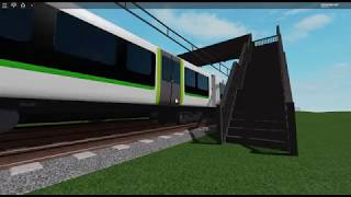 Trainspotting in roblox!