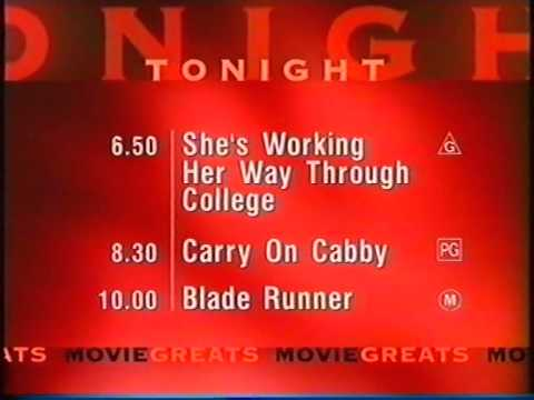 Movie Network Lineup,  Movie One Ident and M Classification (2001)