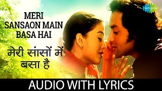 Download lagu Meri Sanson Mein with lyrics | मेरी सांसों में के बोल | Udit Narayan | Aur Pyar Ho Gaya | HD Song