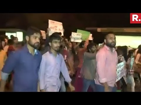 JNU Students Clash With Delhi Police   Sexual Harassment Issue