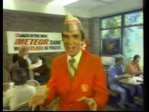 Meteor Jack in the Box Game Commercial 1979