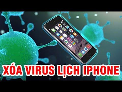 Xóa virus lịch iPhone   Xóa các sự kiện Spam khỏi Ứng dụng Lịch   Virus lịch