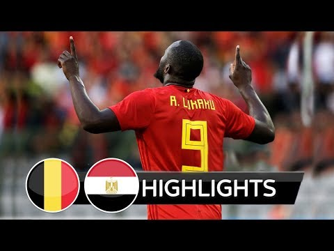 Belgium vs Egypt 30  All Goals &  Highlights 06062018 HD