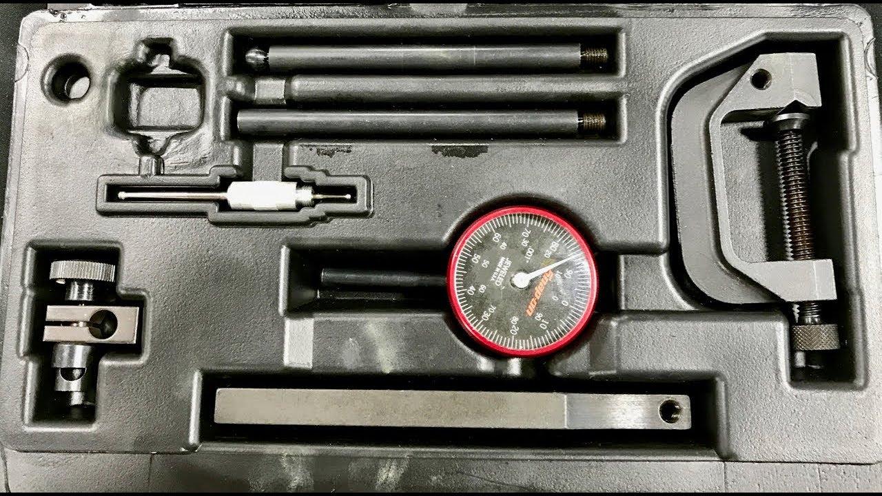 c clamp base dial indicator usage [ 1280 x 720 Pixel ]
