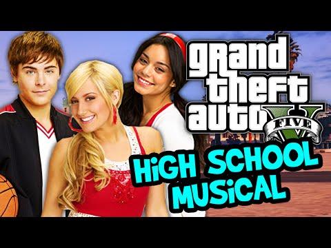 GTA 5 Online - HIGH SCHOOL MUSICAL REUNION - DK1games