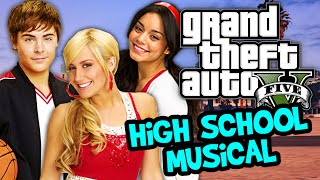 GTA 5 Online - HIGH SCHOOL MUSICAL REUNION - DK1games