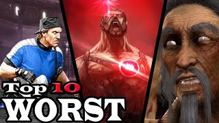 Top 10 Worst Mortal Kombat Characters